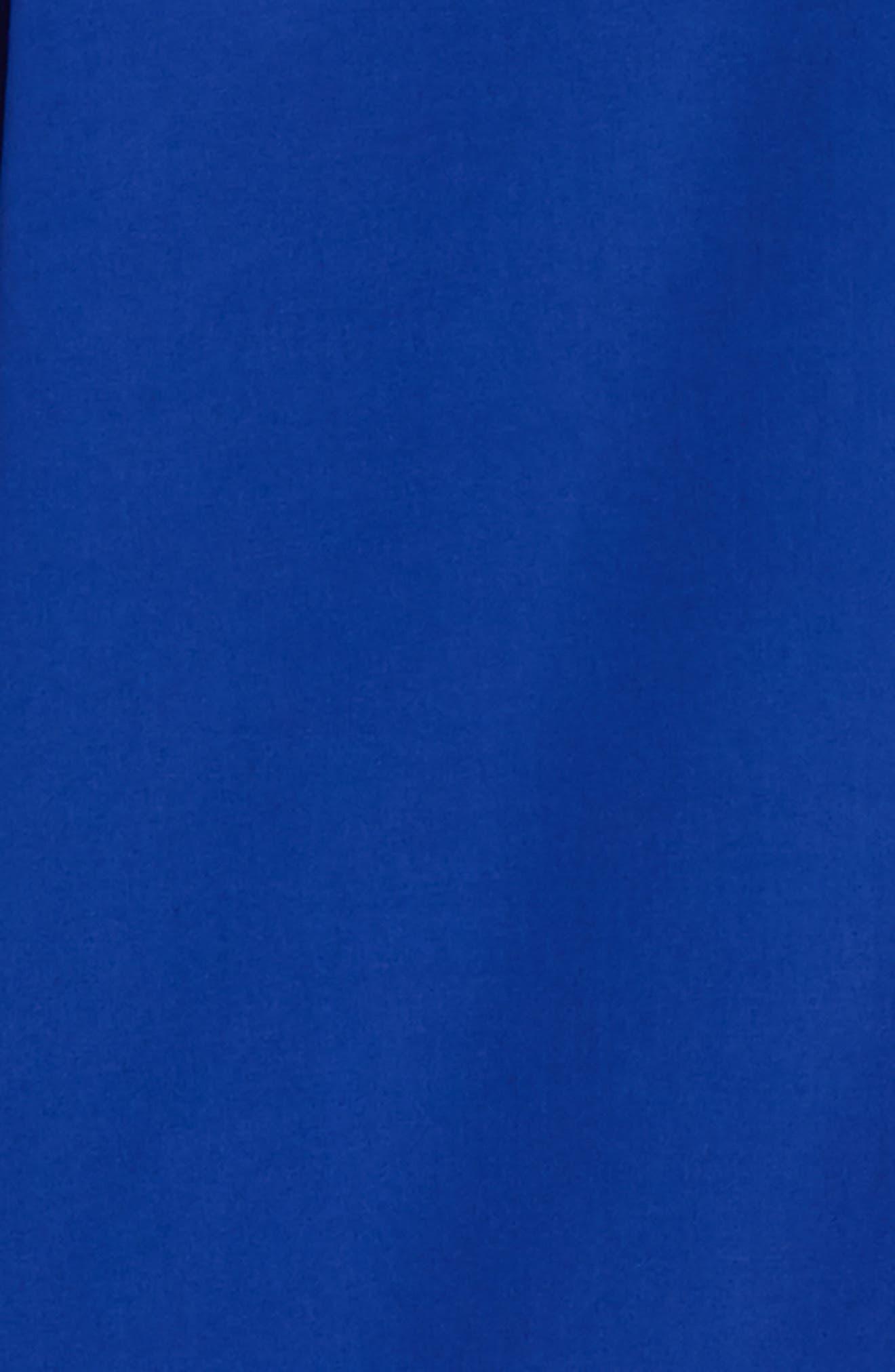 Trim Fit Sport Shirt,                             Alternate thumbnail 5, color,                             Blue