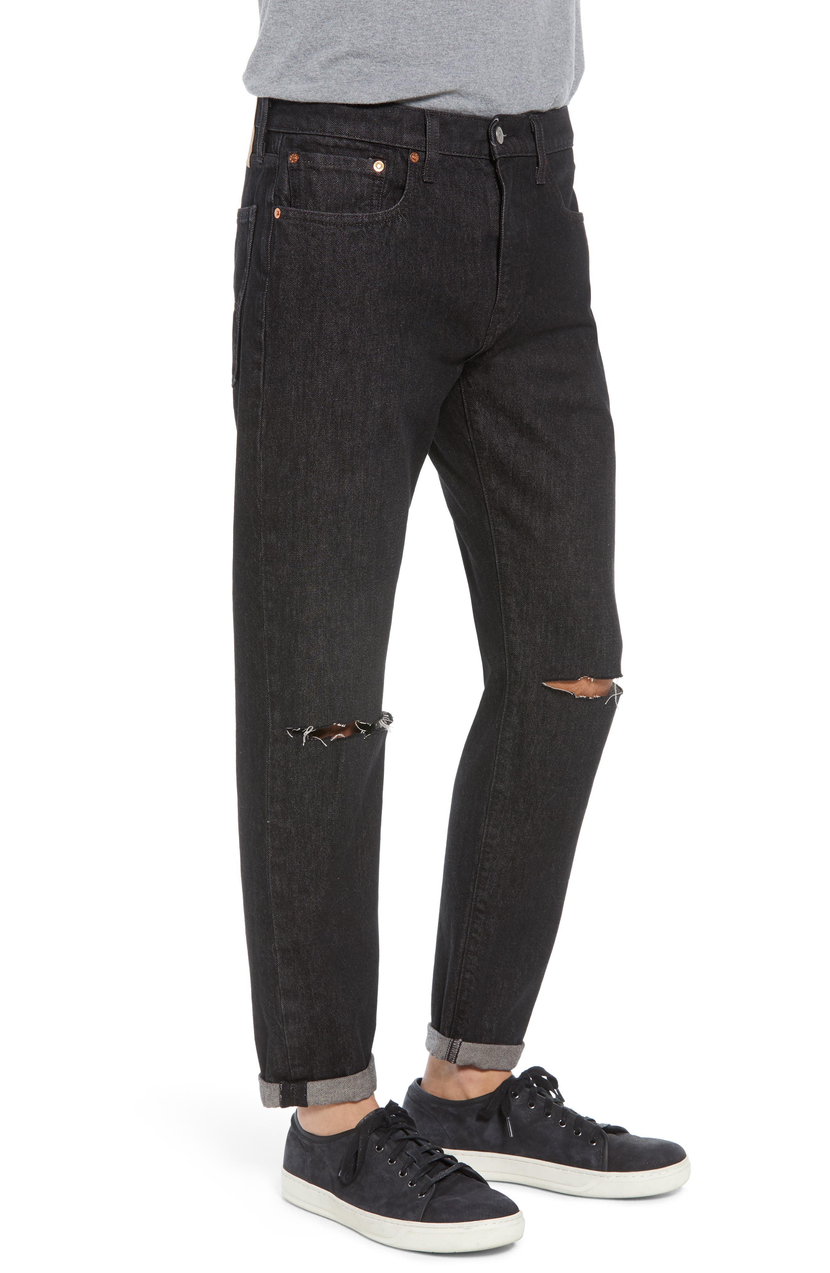 Hi-Ball Straight Fit Jeans,                             Alternate thumbnail 3, color,                             Medium Blue