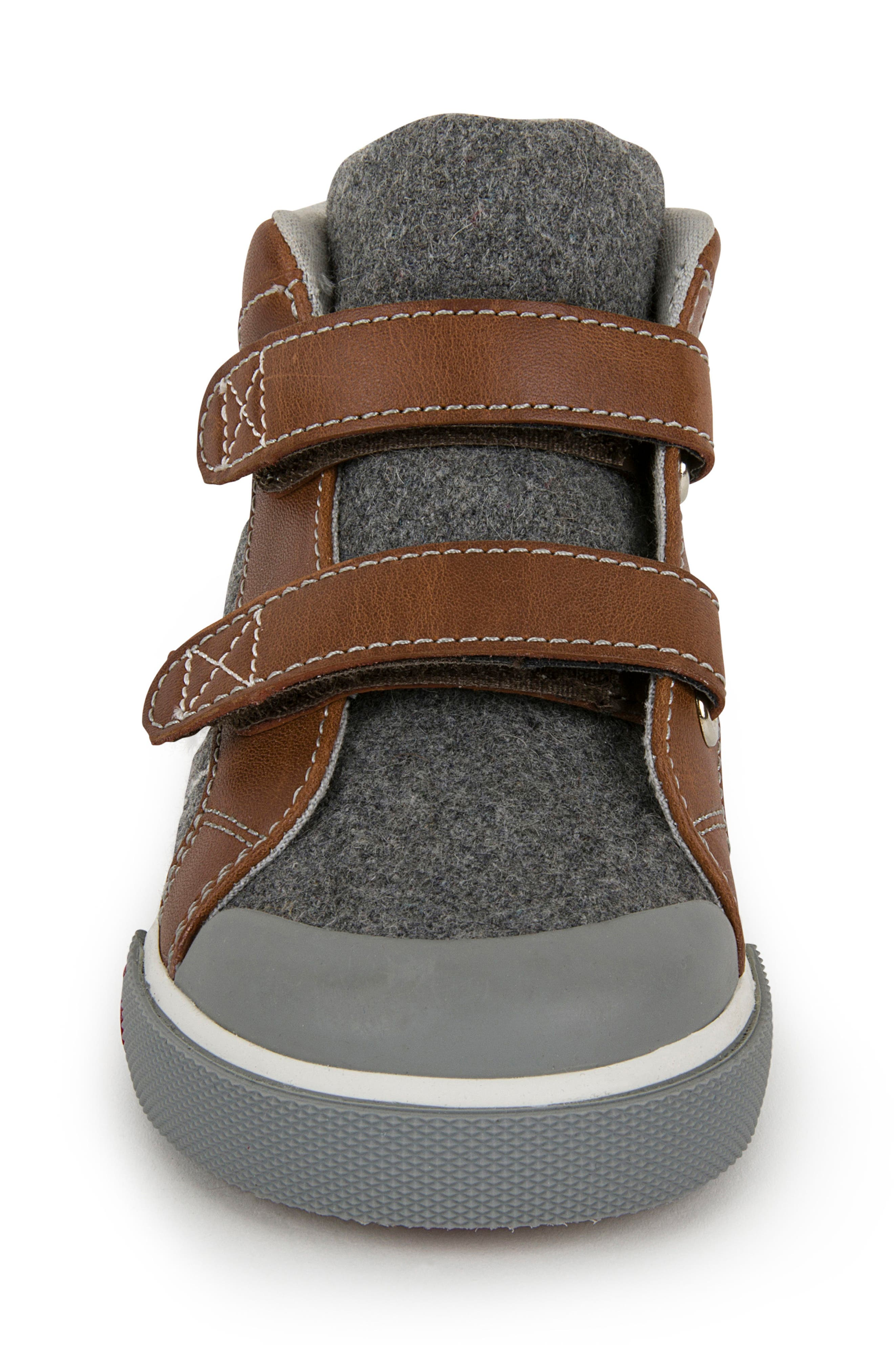 Matty Sneaker,                             Alternate thumbnail 6, color,                             Gray Felt