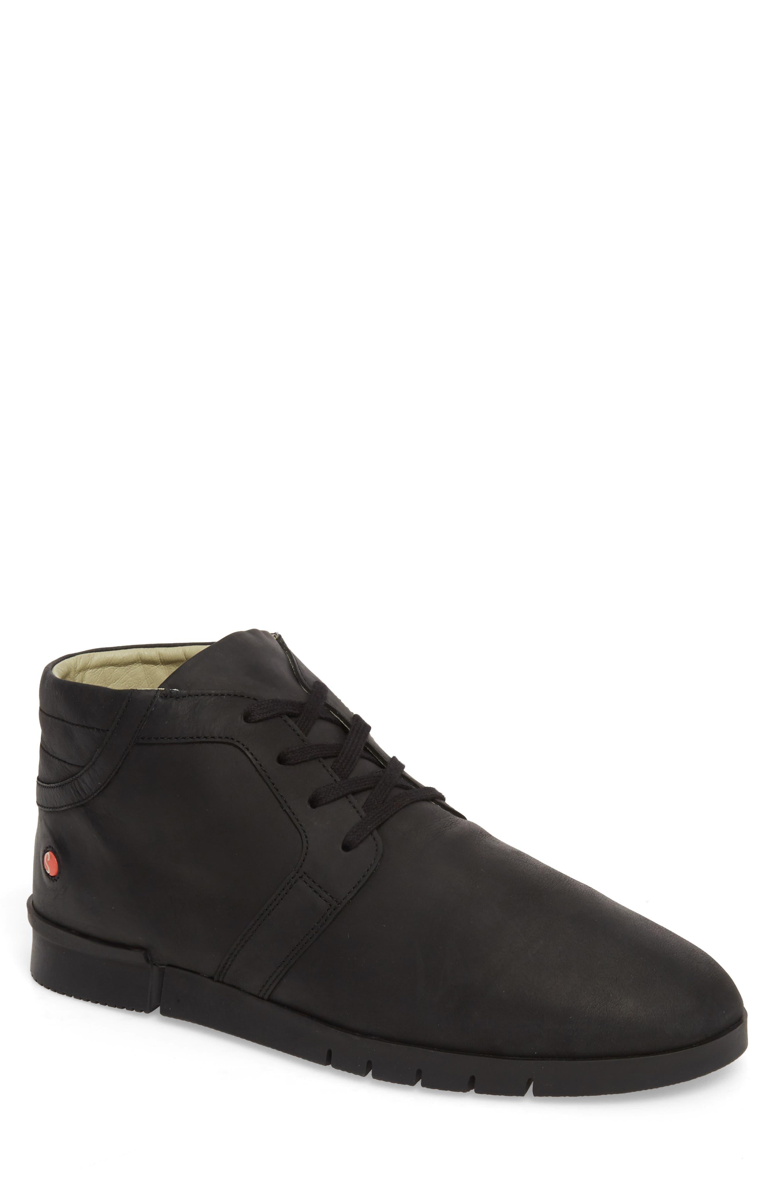 Cul Boot,                             Main thumbnail 1, color,                             Black Corgi Leather