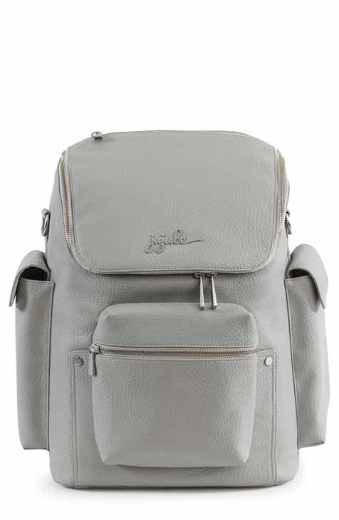 961184a580b0 Ju-Ju-Be Ever Collection Forever Faux Leather Diaper Backpack