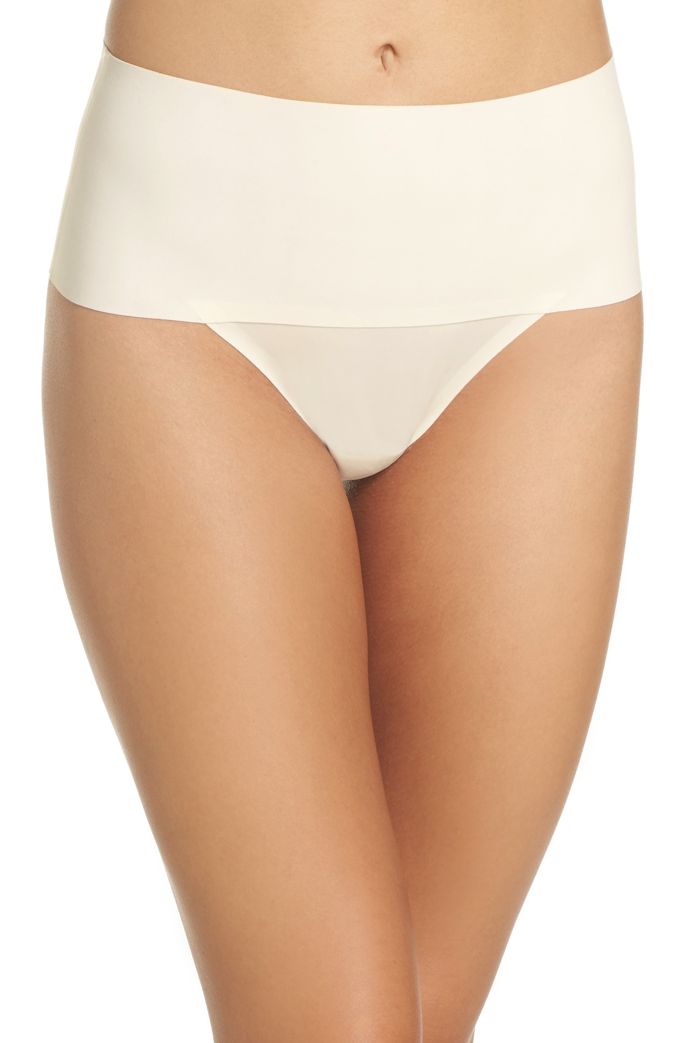 Undie-tectable Thong,                         Main,                         color, Powder