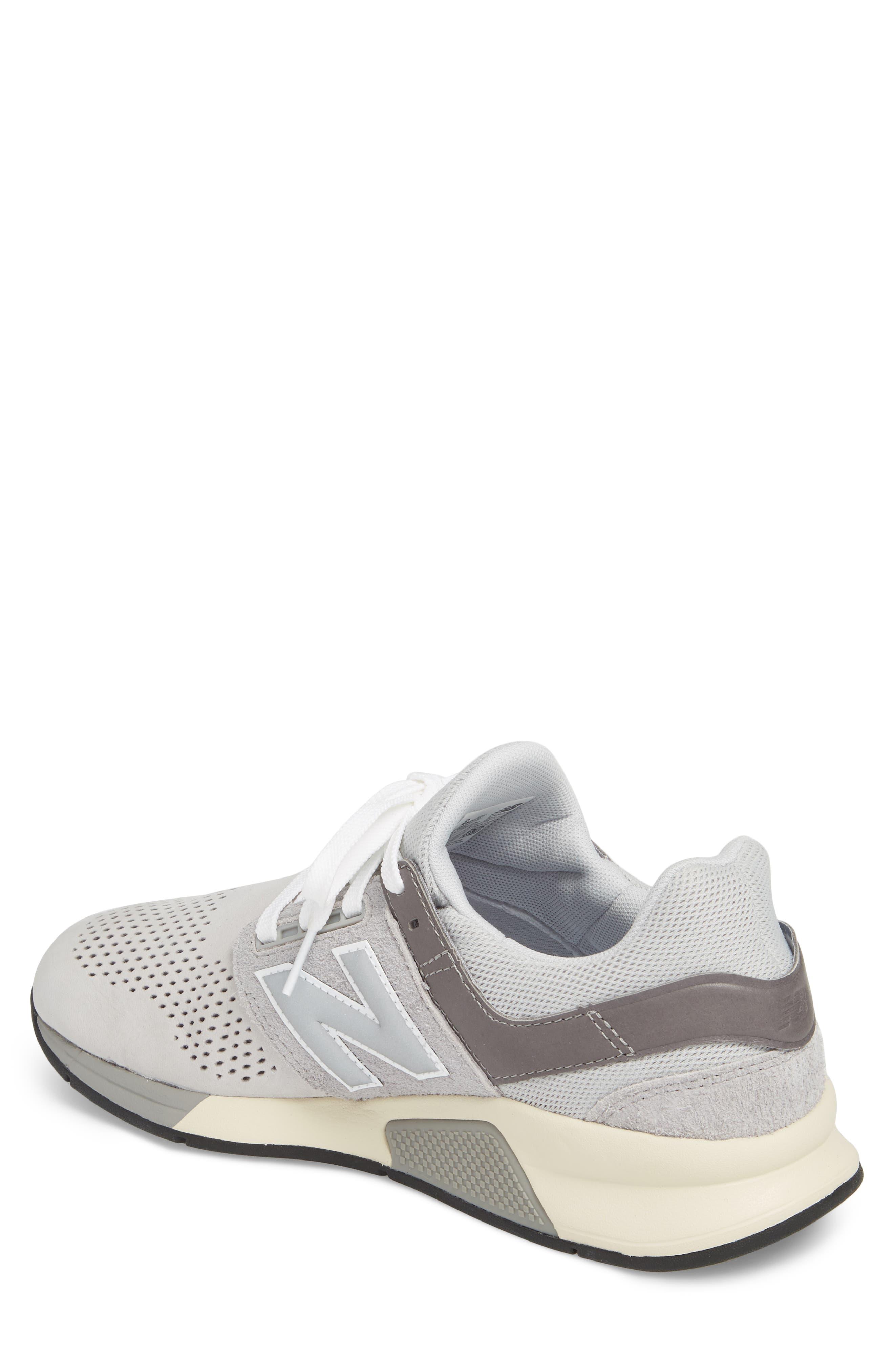 247 v2 Sneaker,                             Alternate thumbnail 2, color,                             Rain Cloud Leather