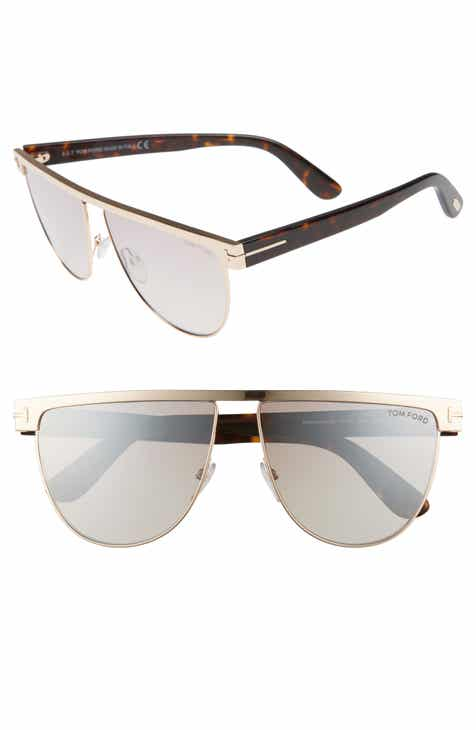 Tom Ford Stephanie 60mm Mirrored Sunglasses f5fe40e929