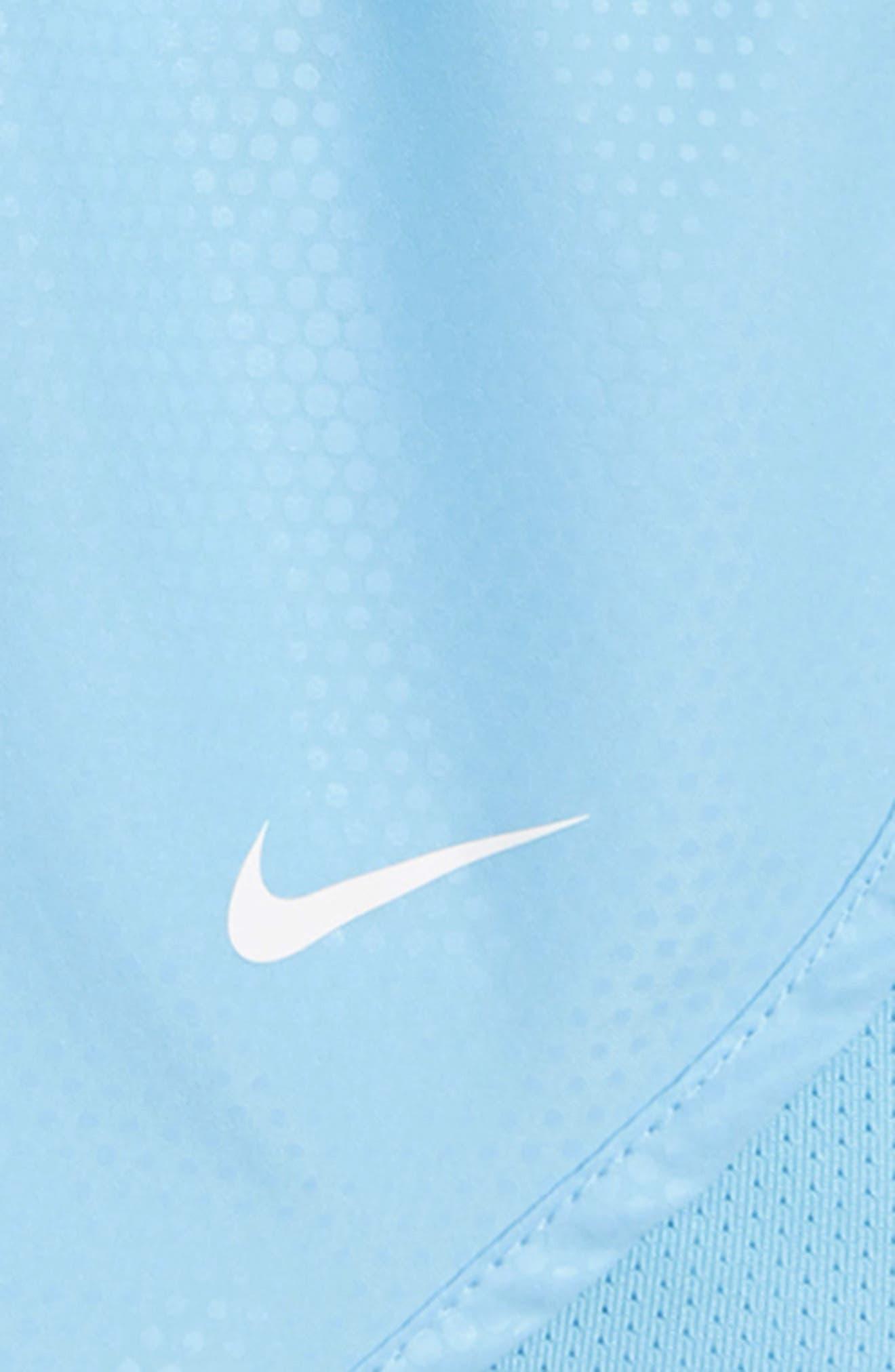 Dry Tempo Shorts,                             Alternate thumbnail 4, color,                             Blue Chill/ White