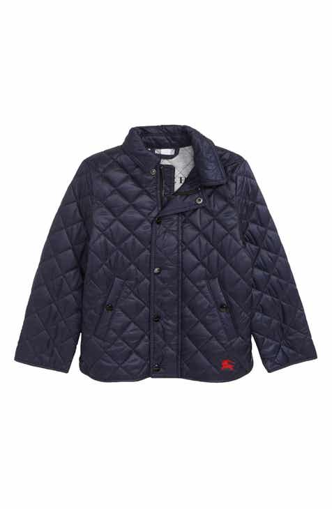 05be2697ebba Burberry Mini Lyle Diamond Quilted Jacket (Baby Boys   Toddler Boys)