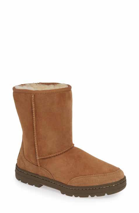 34b84e39d UGG® Ultra Revival Genuine Shearling Short Boot (Women)