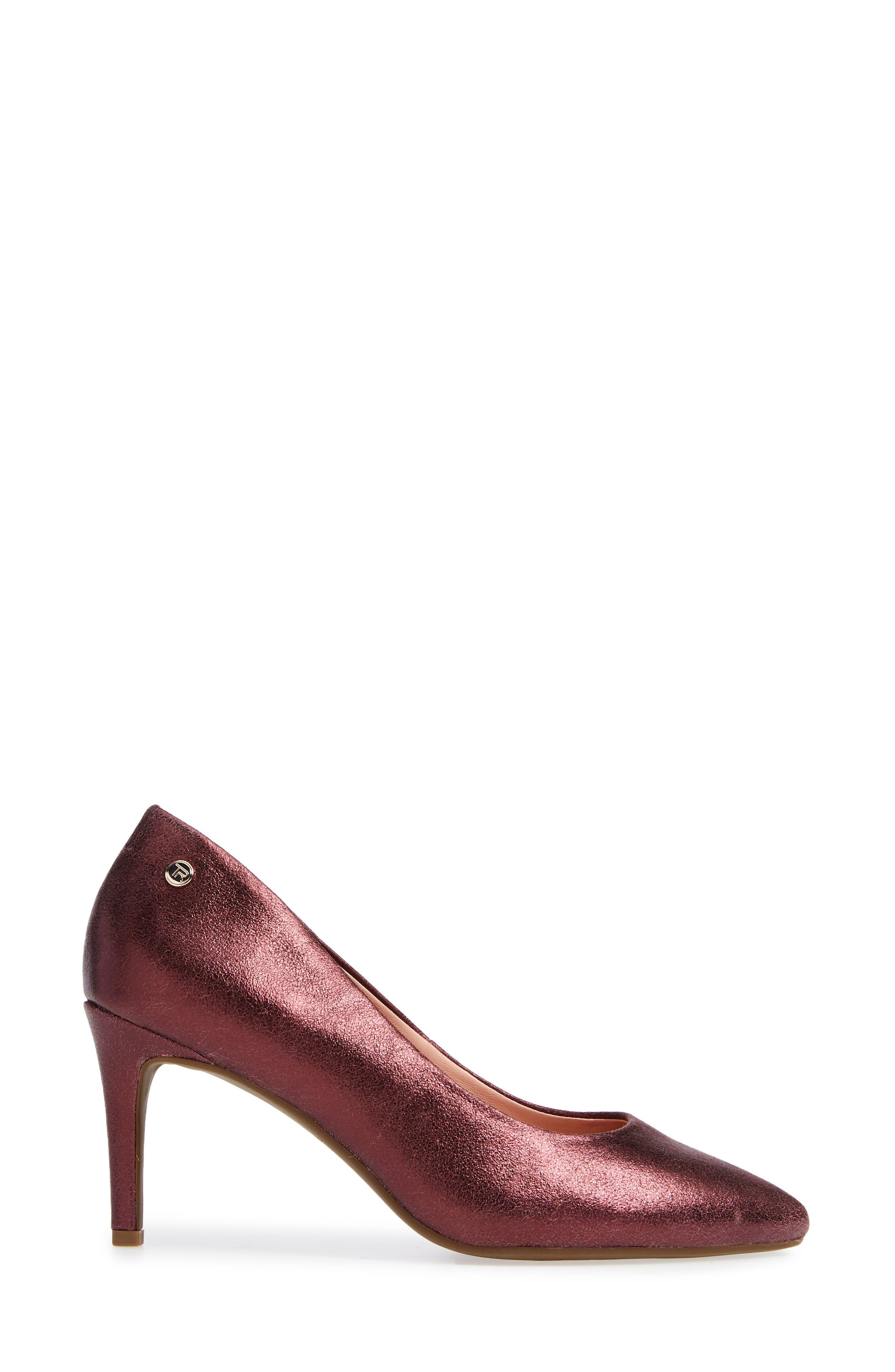Tamara Pump,                             Alternate thumbnail 4, color,                             Fig Leather