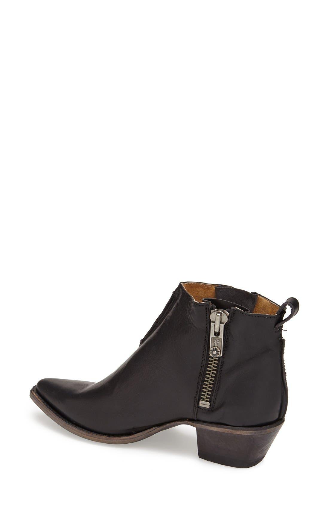 Alternate Image 2  - Frye 'Sacha' Washed Leather Ankle Boot (Women)