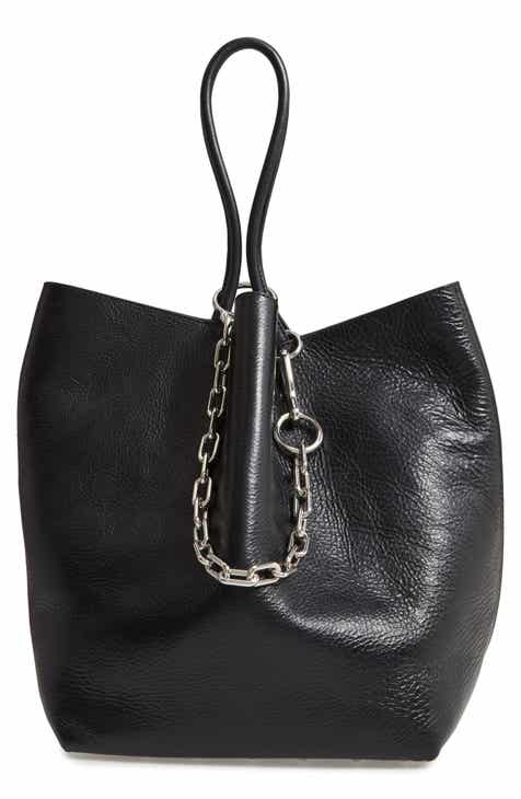 442d0ff719ad Alexander Wang Large Roxy Leather Tote Bag