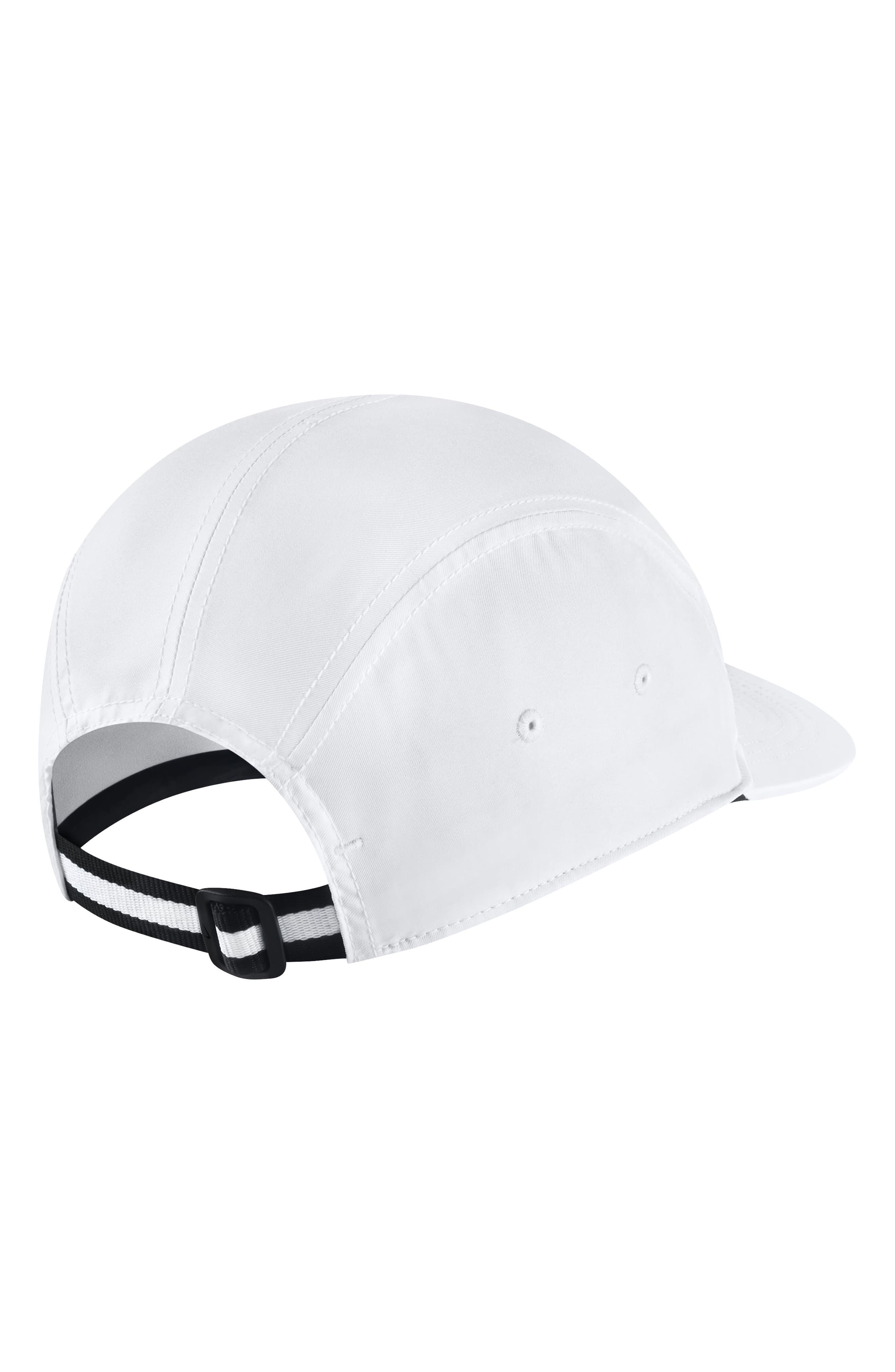 Sportswear NikeLab Baseball Cap,                             Alternate thumbnail 2, color,                             White/ Black/ White/ White