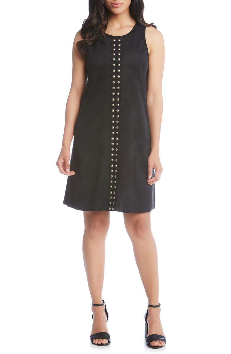 Karen Karen Studded A-Line Dress