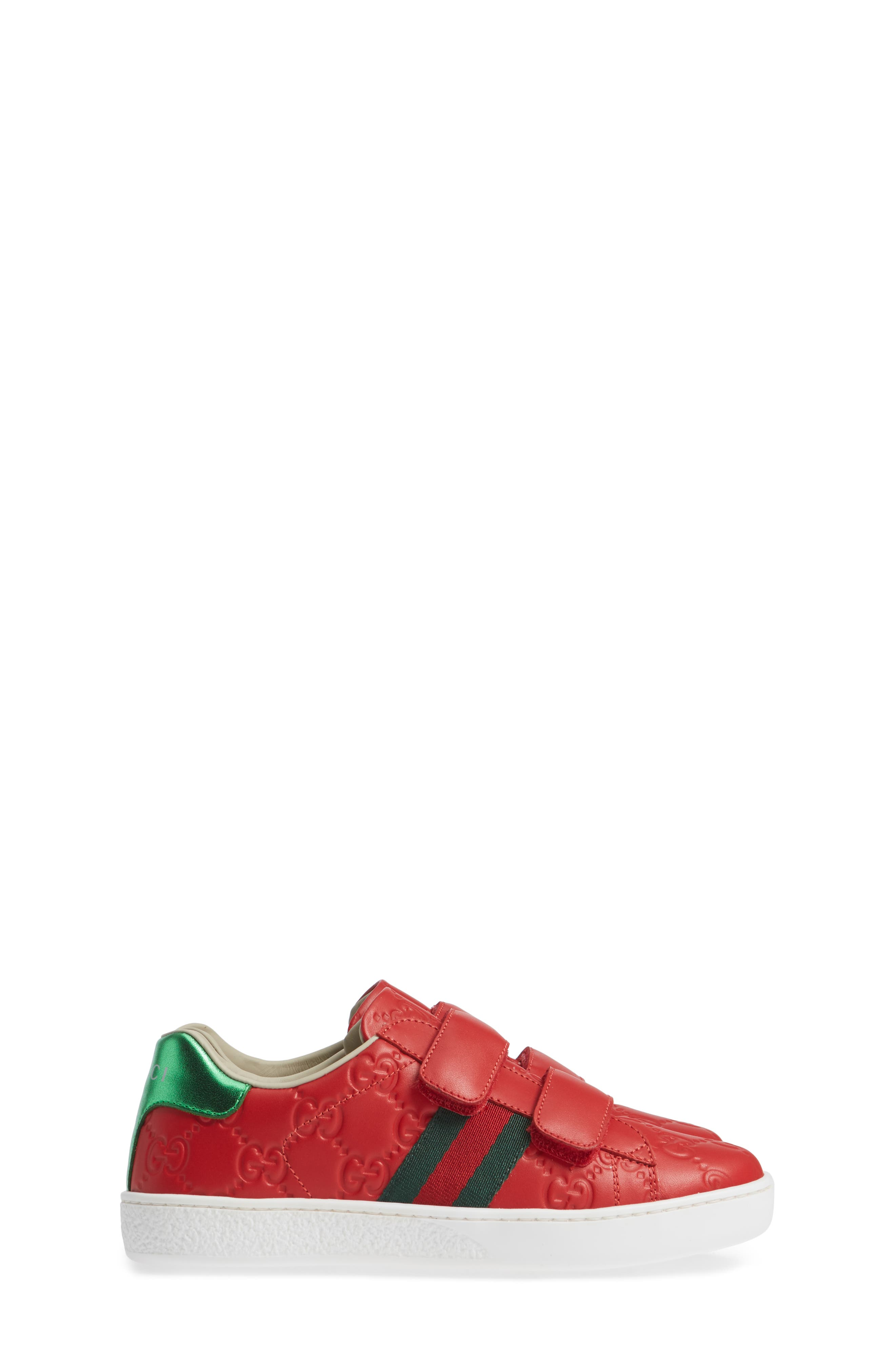 New Ace Sneaker,                             Alternate thumbnail 4, color,                             Red