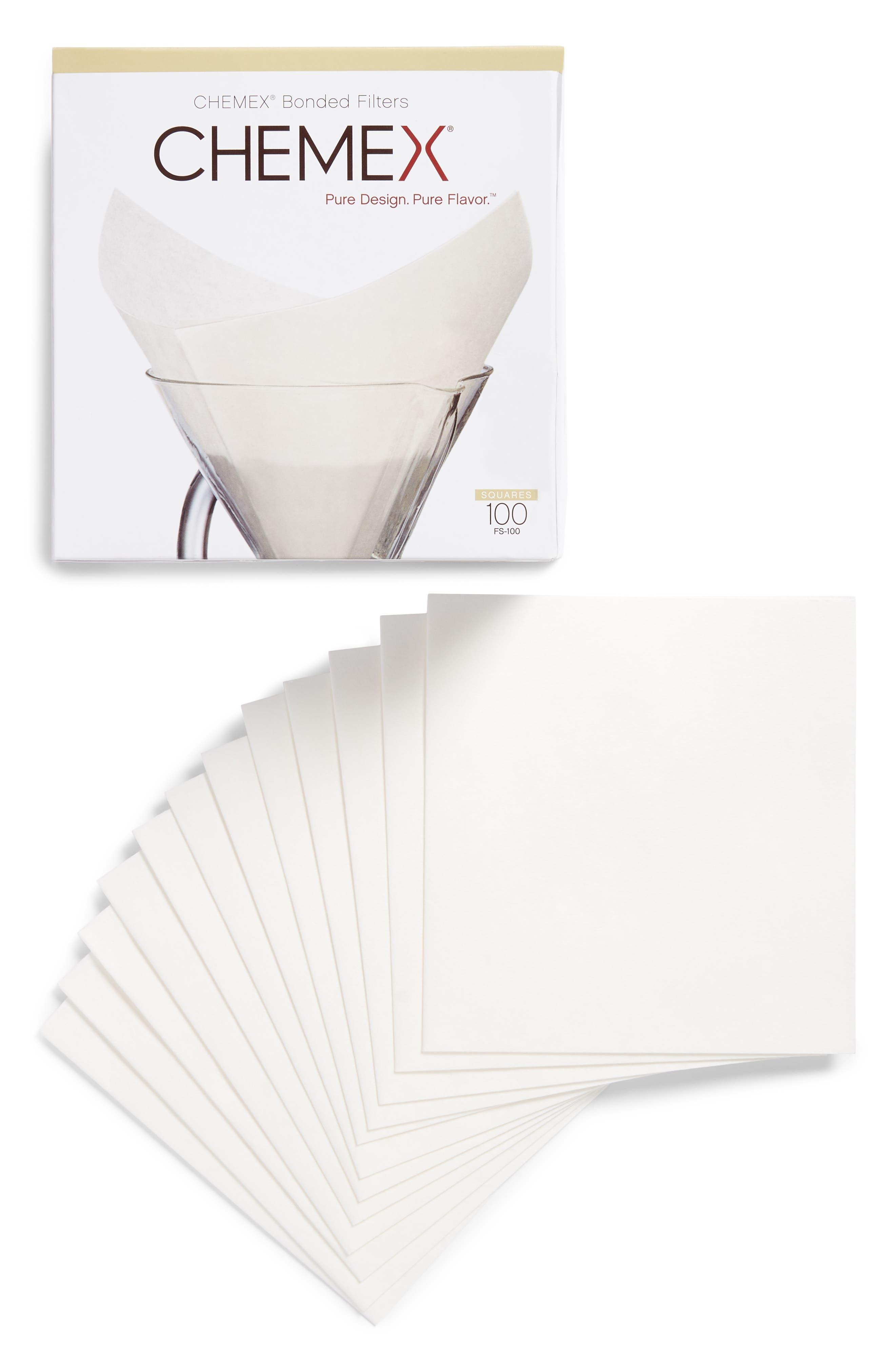 Pre-Folded Square Filters,                             Main thumbnail 1, color,                             White