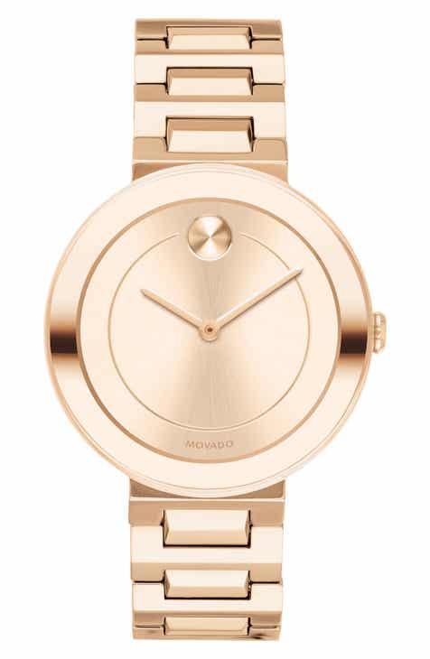 Movado Bold Refined Bracelet Watch 34mm