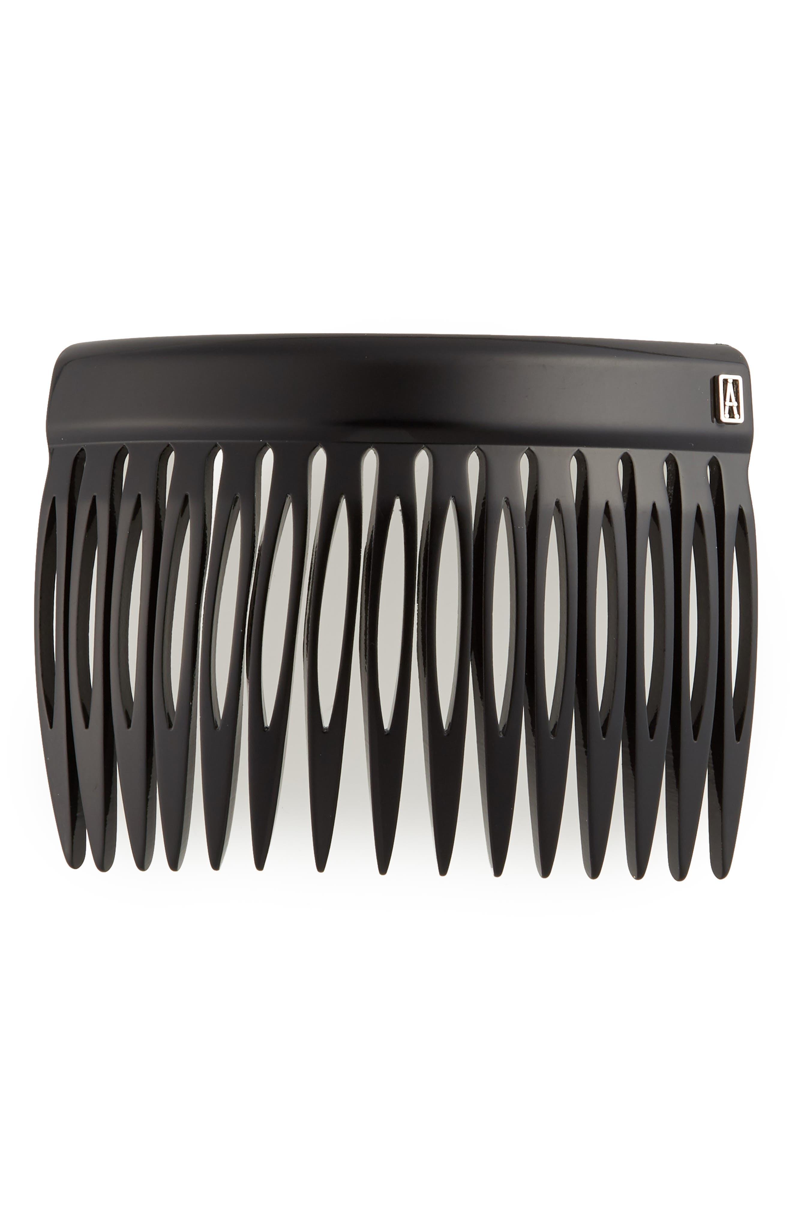 ALEXANDRE DE PARIS Hair Comb in Black