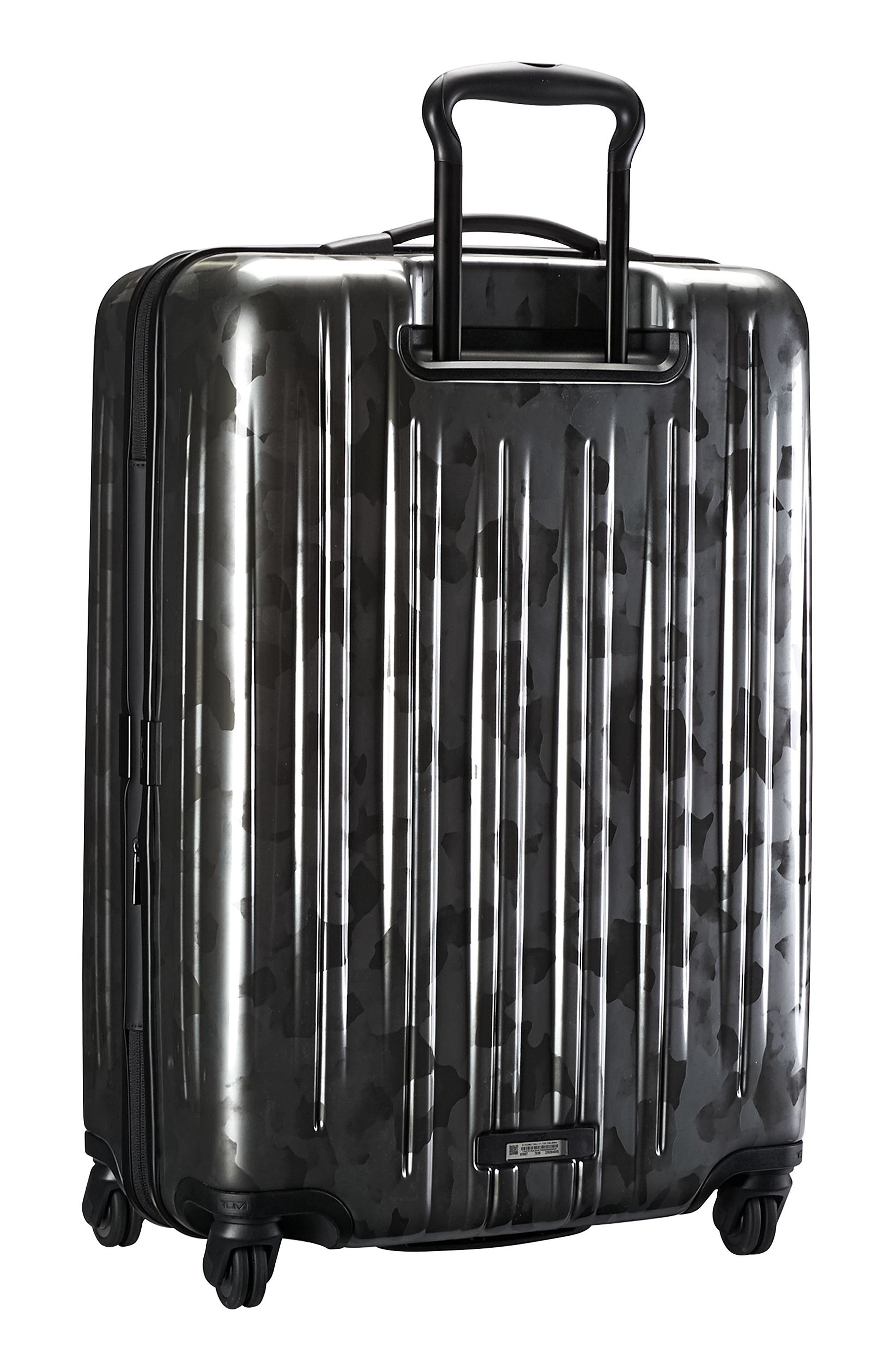 V3 Short Trip 26-Inch Expandable Wheeled Packing Case,                             Alternate thumbnail 4, color,                             Galvanized Silver
