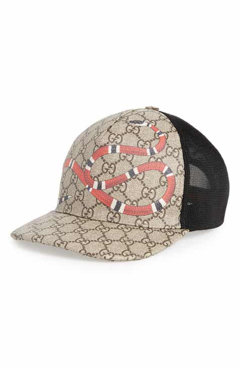b0f1050bbd0 Gucci Kingsnake Canvas Baseball Cap