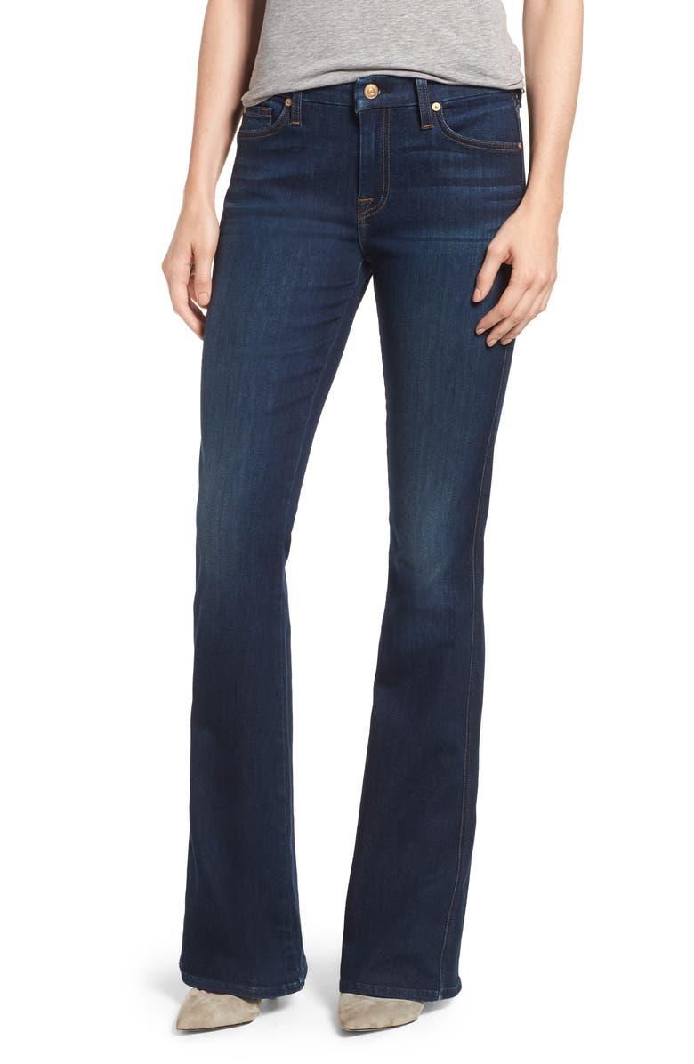 A-Pocket Flare Leg Jeans