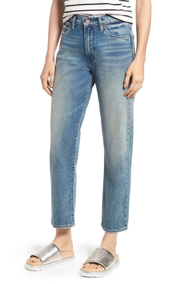 The Crosby High Waist Straight Leg Jeans