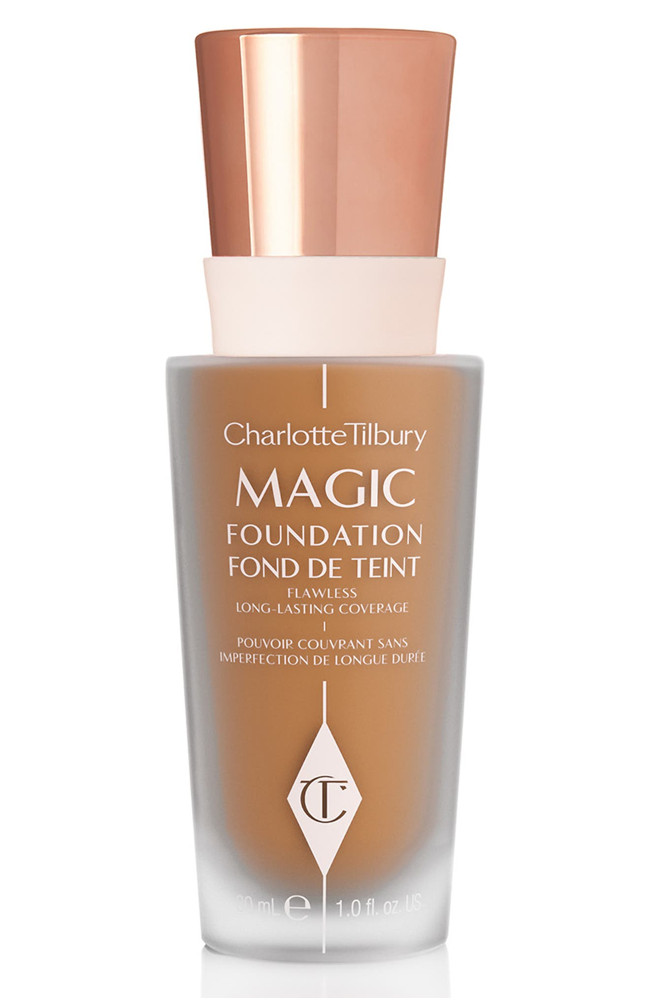 CHARLOTTE TILBURY MAGIC FOUNDATION BROAD SPECTRUM SPF 15 - 9 DARK