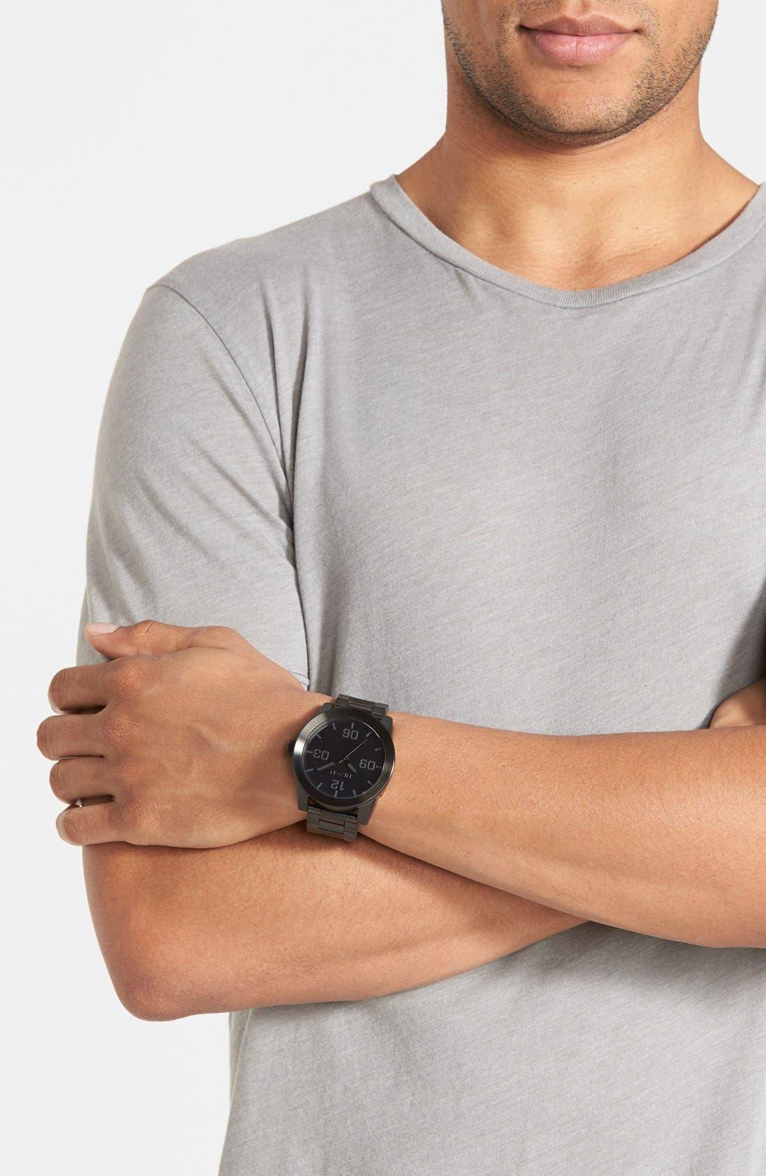 Alternate Image 8  - Nixon 'The Corporal' Bracelet Watch, 48mm
