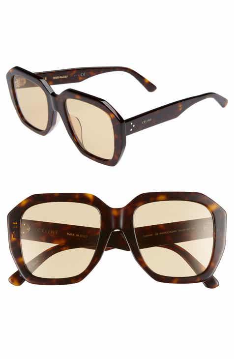 b17b9eeb7f1 CELINE 53mm Square Photochromic Sunglasses