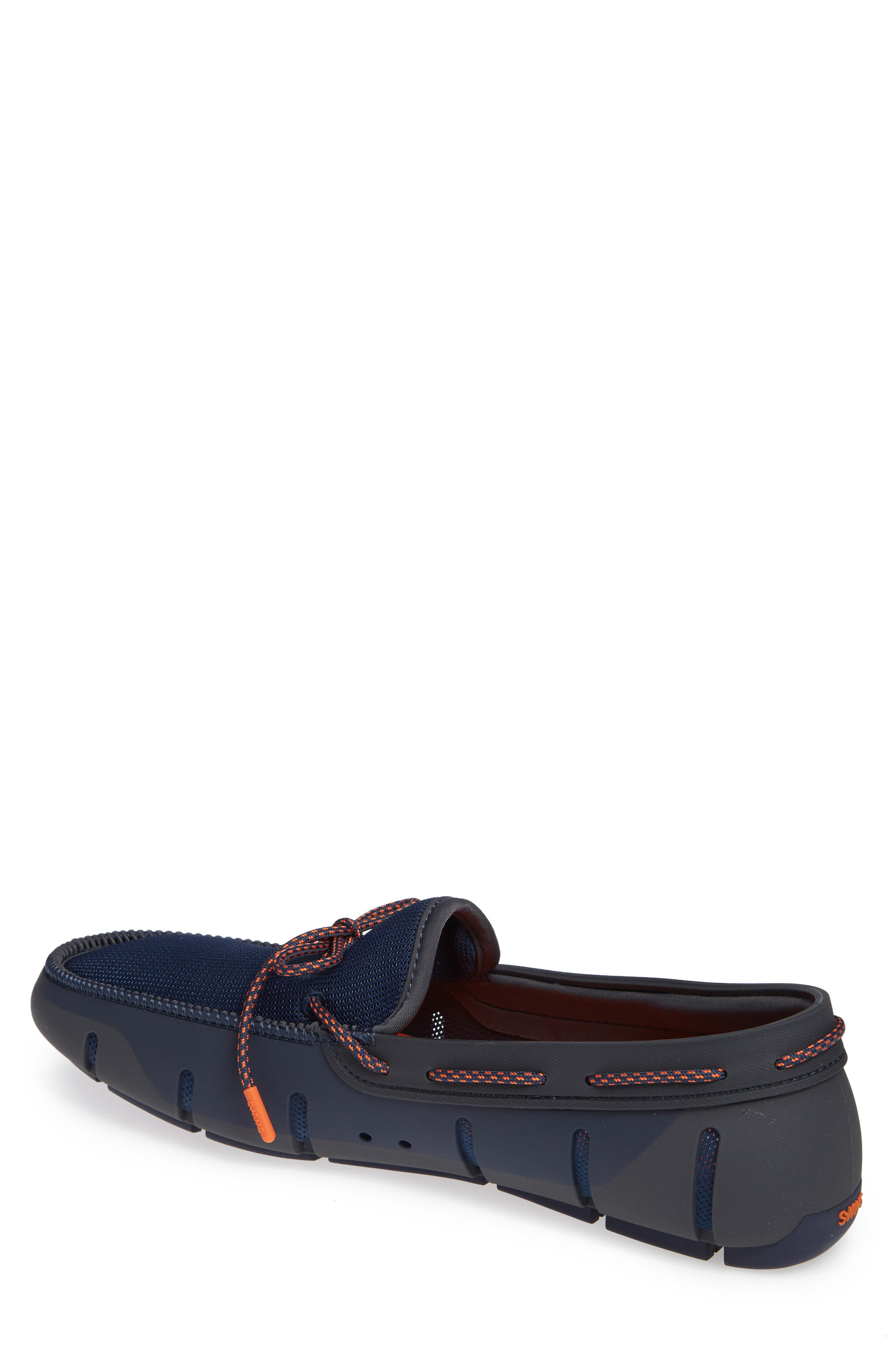 Stride Lace Loafer,                             Alternate thumbnail 2, color,                             Navy/ Dark Gray