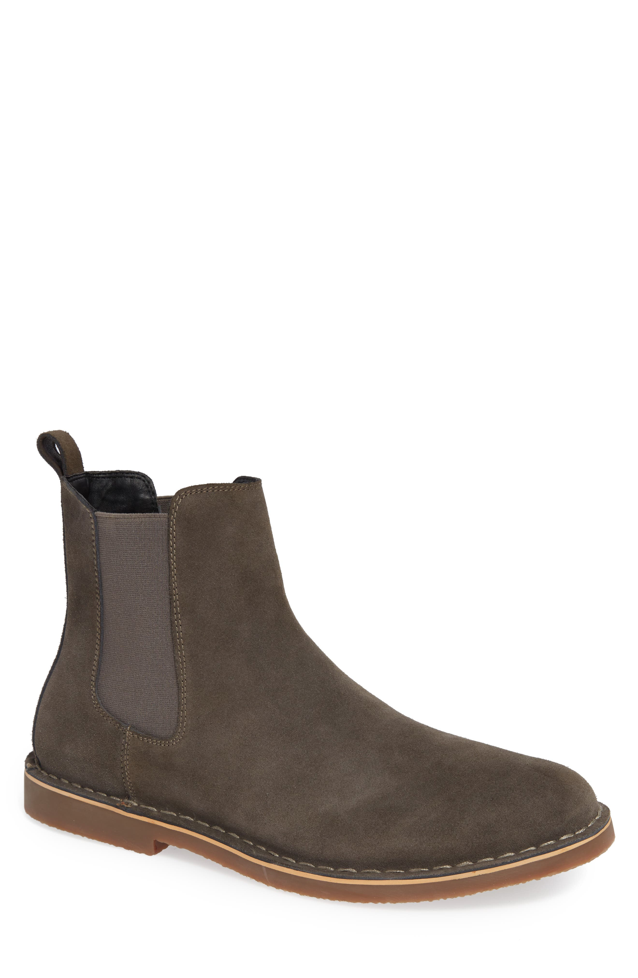 Mesa Chelsea Boot,                         Main,                         color, Charcoal Suede