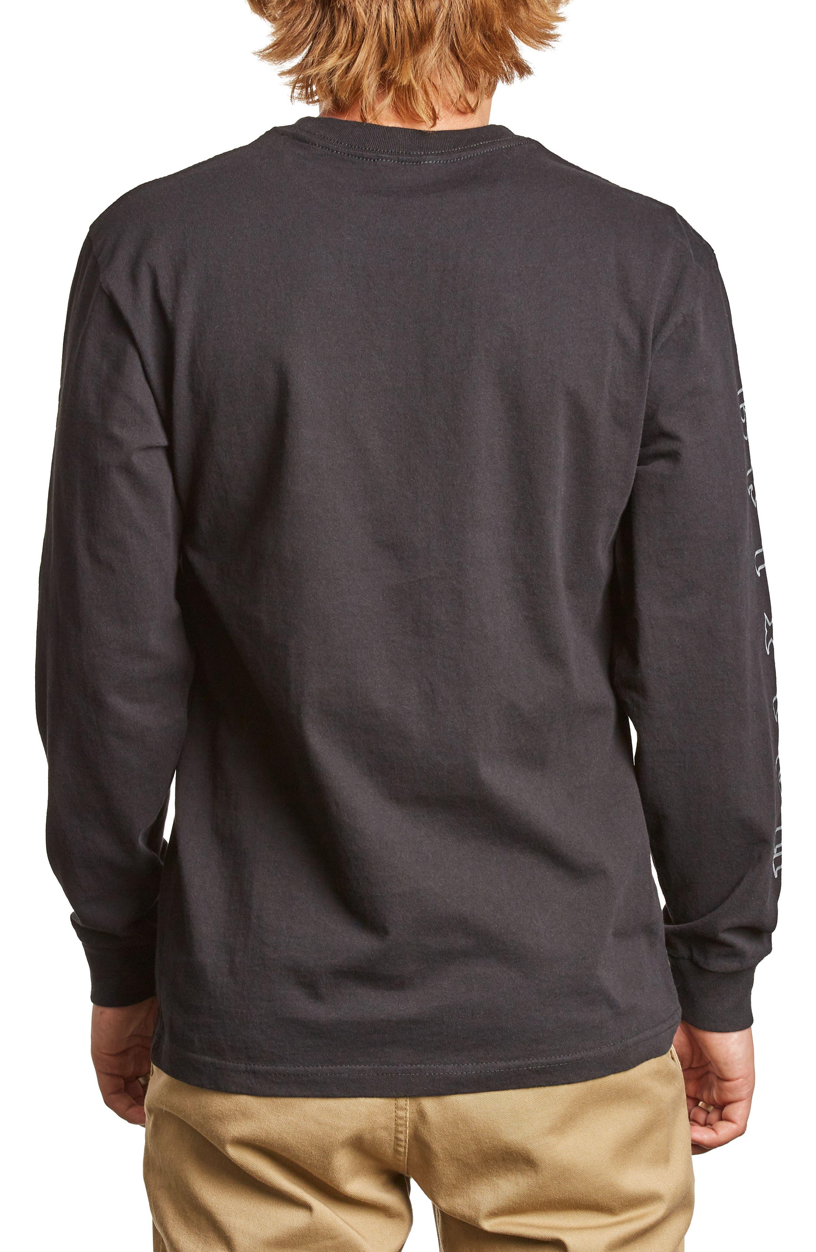 Primo T-Shirt,                             Alternate thumbnail 2, color,                             Washed Black