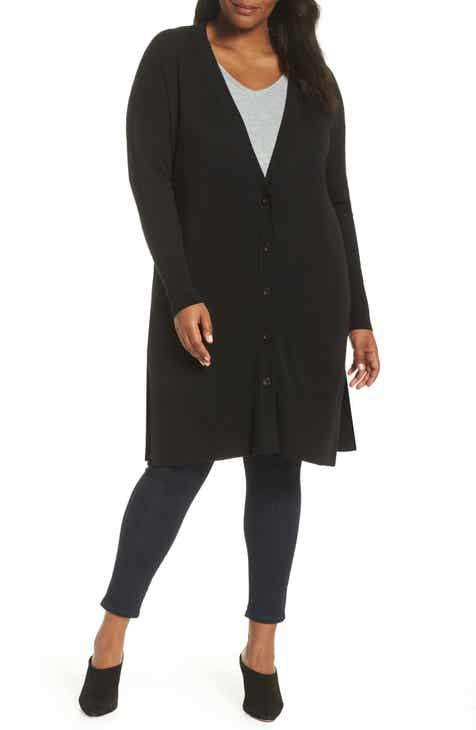 7024ccd37b9 Sejour Long Cardigan (Plus Size)