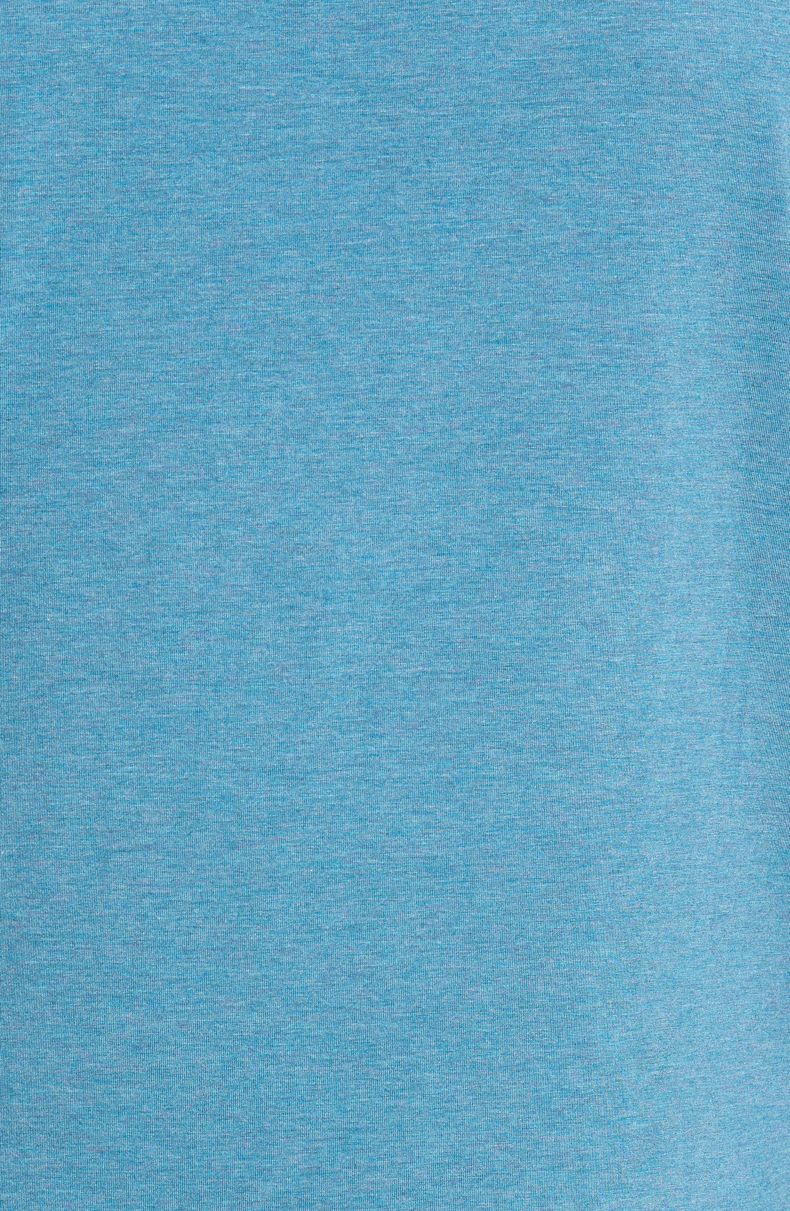 Carrollton Quarter Zip Sweatshirt,                             Alternate thumbnail 3, color,                             Tranquility Sea Heather