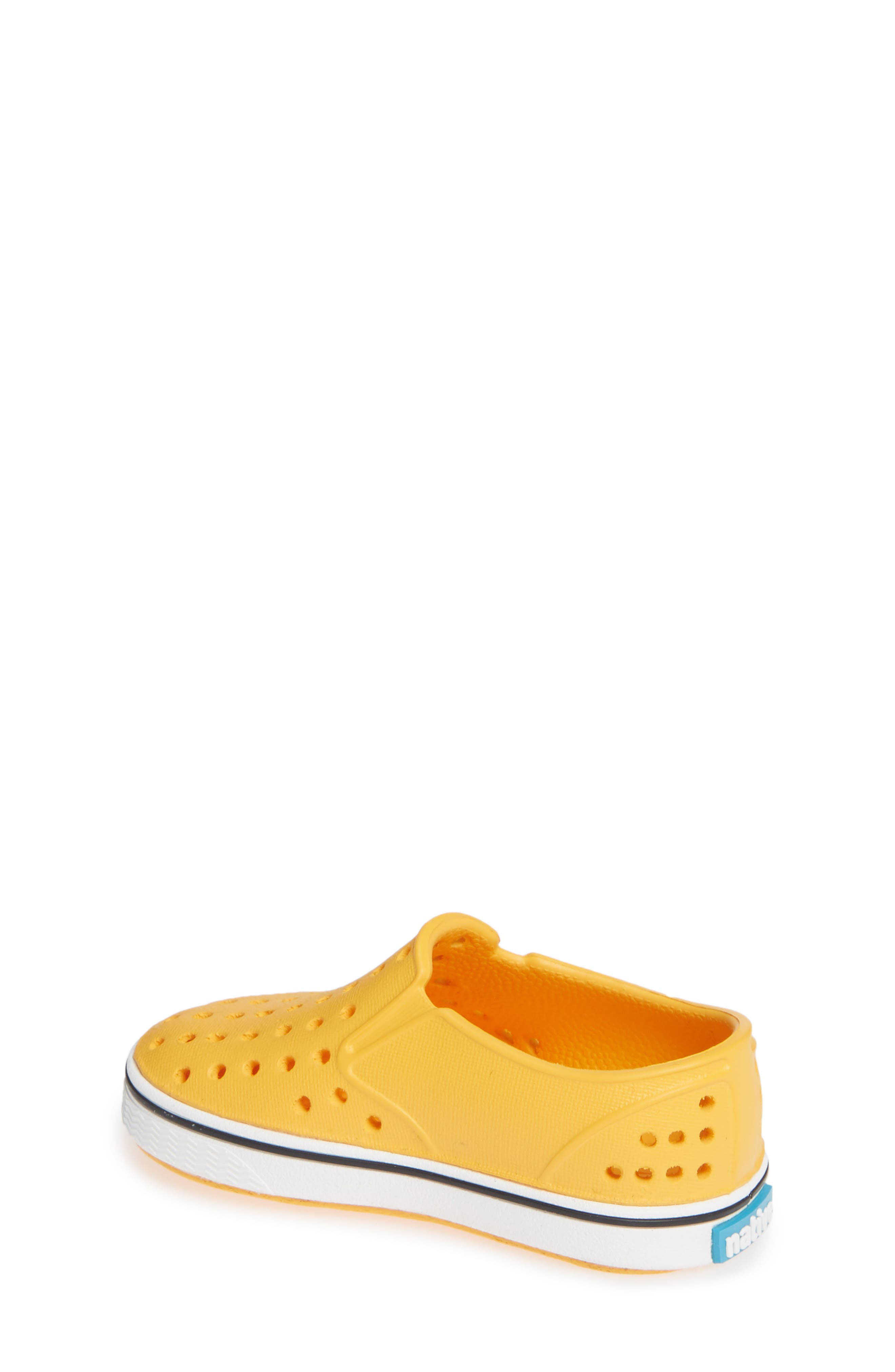 Miles Water Friendly Slip-On Sneaker,                             Alternate thumbnail 2, color,                             Beanie Yellow/ Shell White