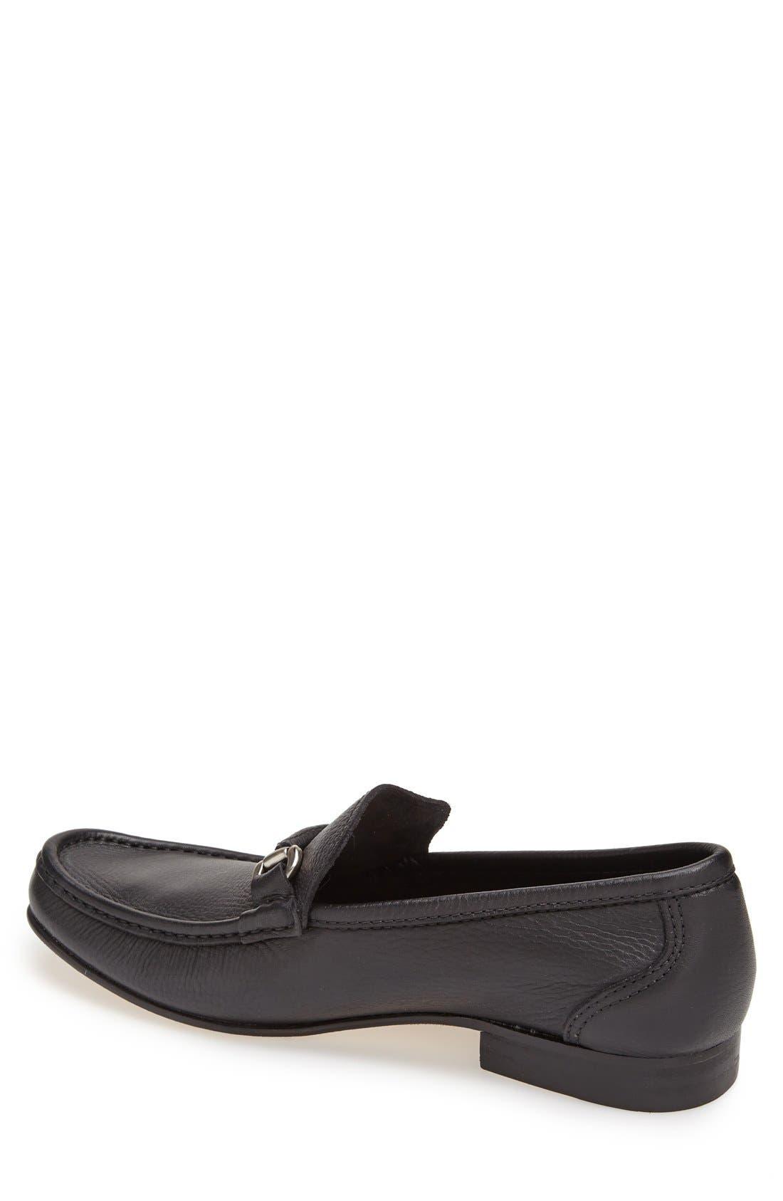 Alternate Image 4  - Sandro Moscoloni 'San Remo' Leather Bit Loafer (Men)