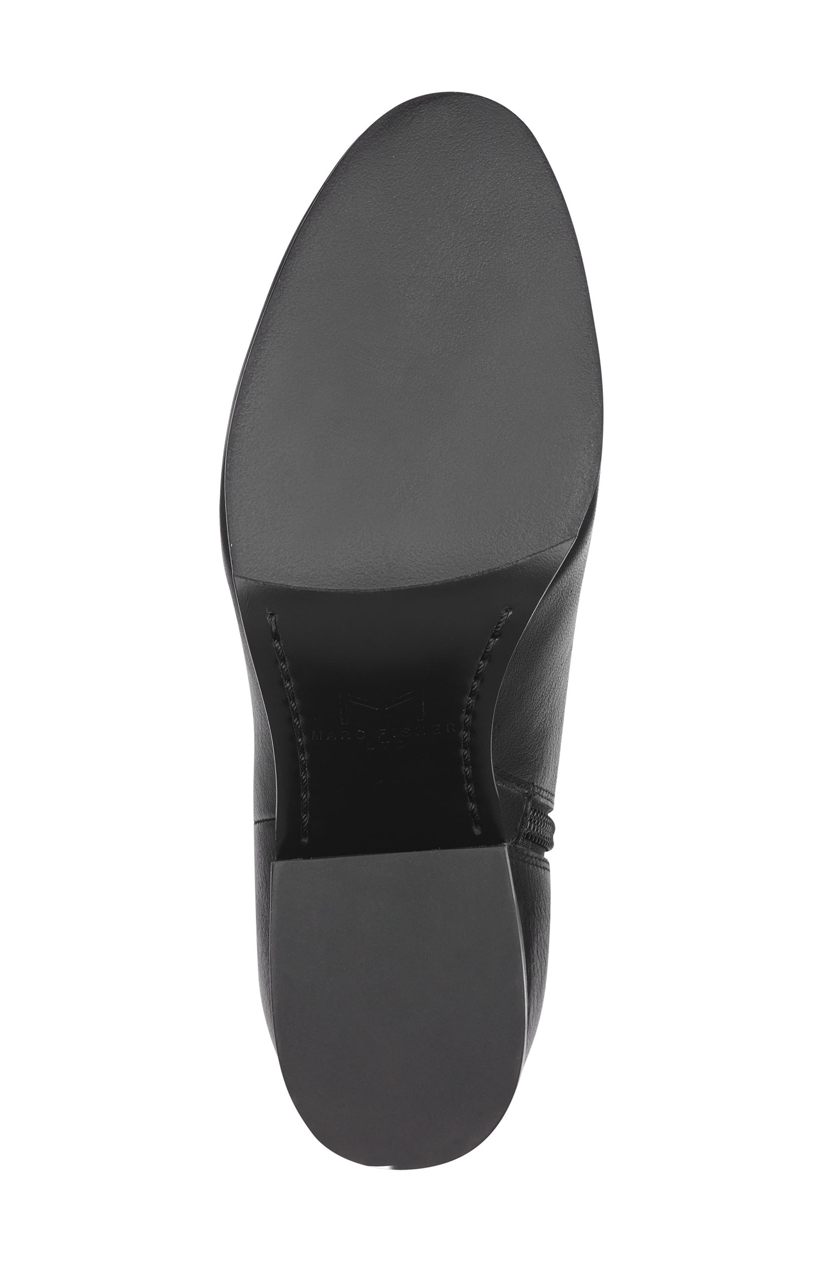 Quella Bootie,                             Alternate thumbnail 6, color,                             Black Leather