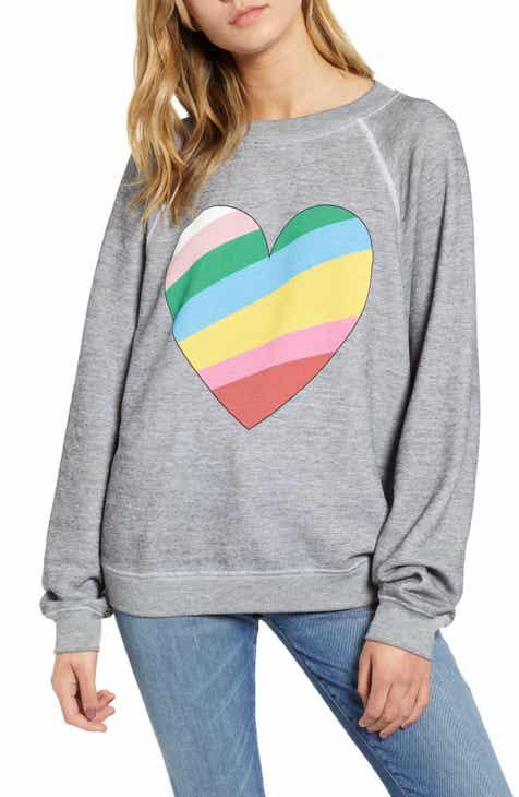 Wildfox Sommers Love Hearts Sweatshirt