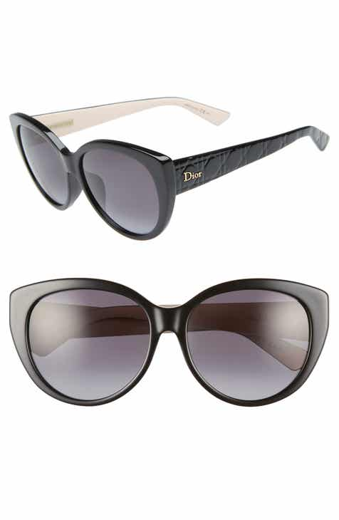 803a765262 Dior Lady 58mm Cat Eye Sunglasses