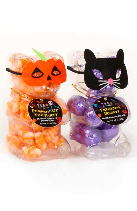 dylans candy bar 2 piece bear cat halloween gift set