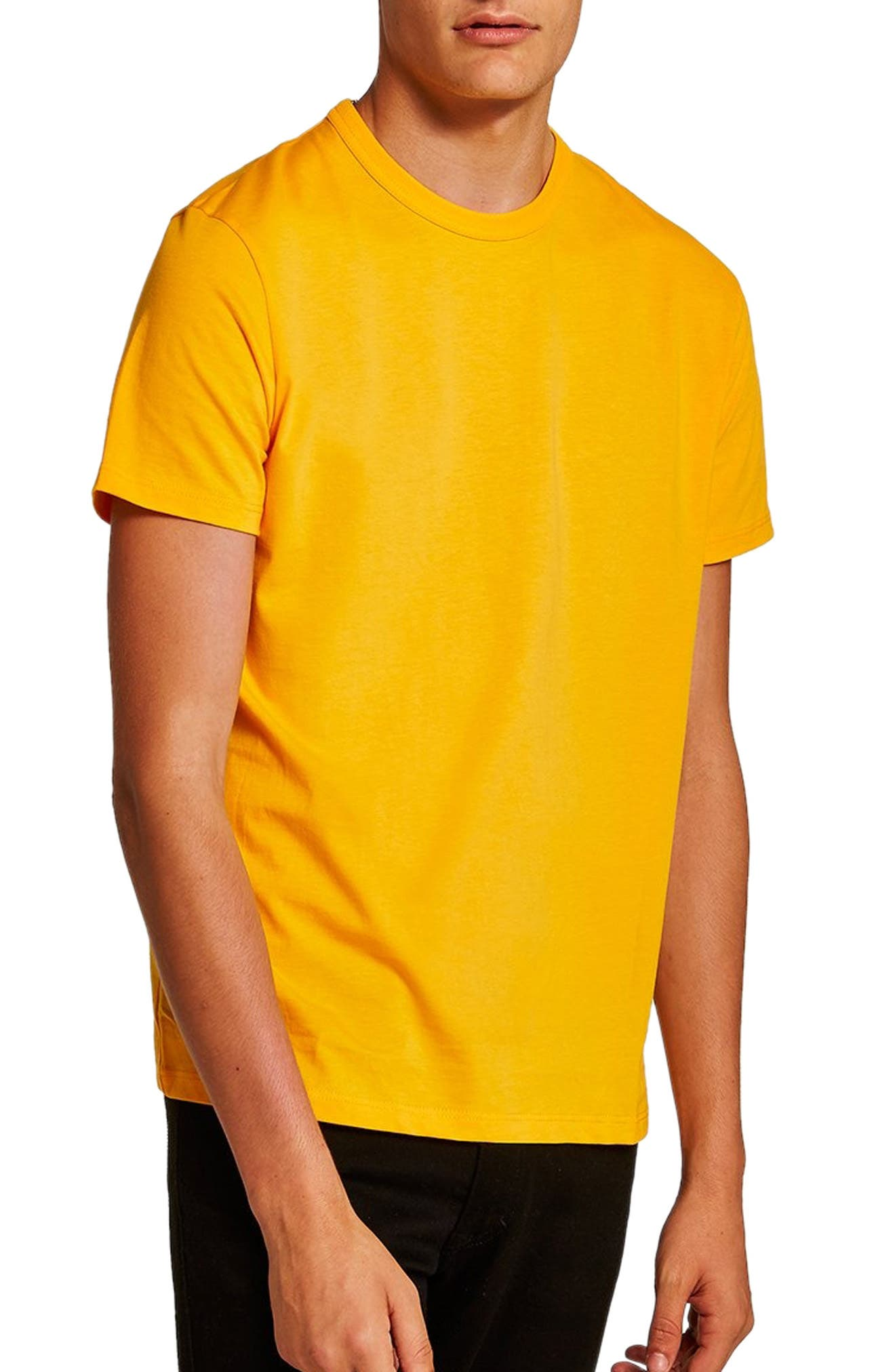 Classic Fit T-Shirt,                         Main,                         color, Yellow