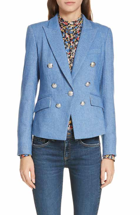 Veronica Beard Diego Herringbone Dickey Jacket by VERONICA BEARD