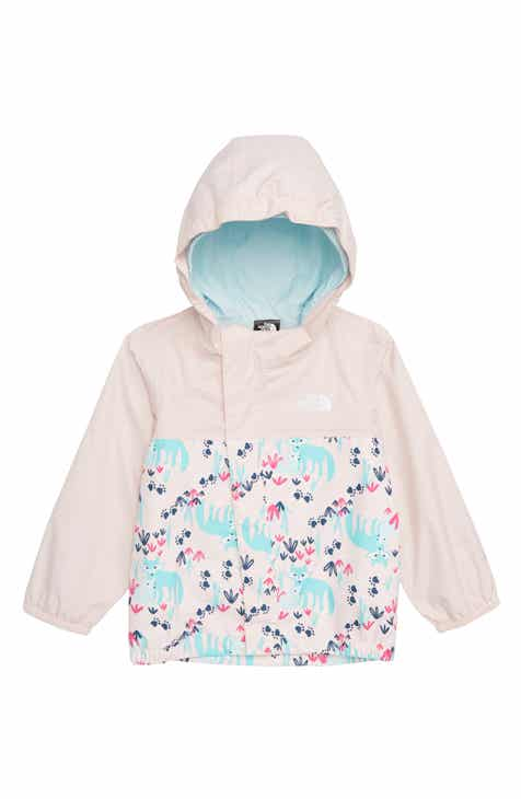 b067e98c3b4c The North Face Tailout Hooded Rain Jacket (Baby Girls)