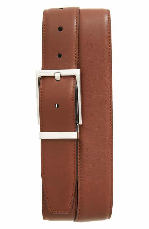 4a92bacf29b1 Salvatore Ferragamo Reversible Leather Belt