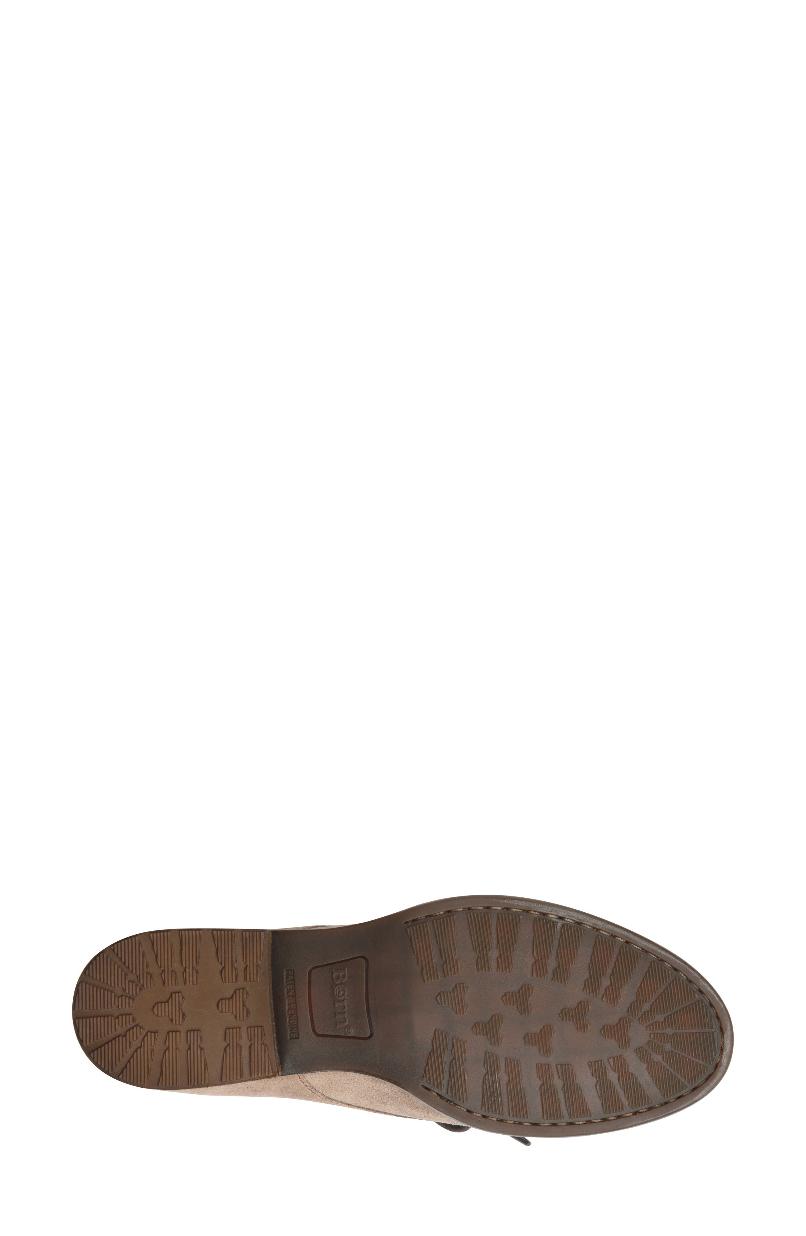 Rora Derby,                             Alternate thumbnail 3, color,                             Taupe Suede