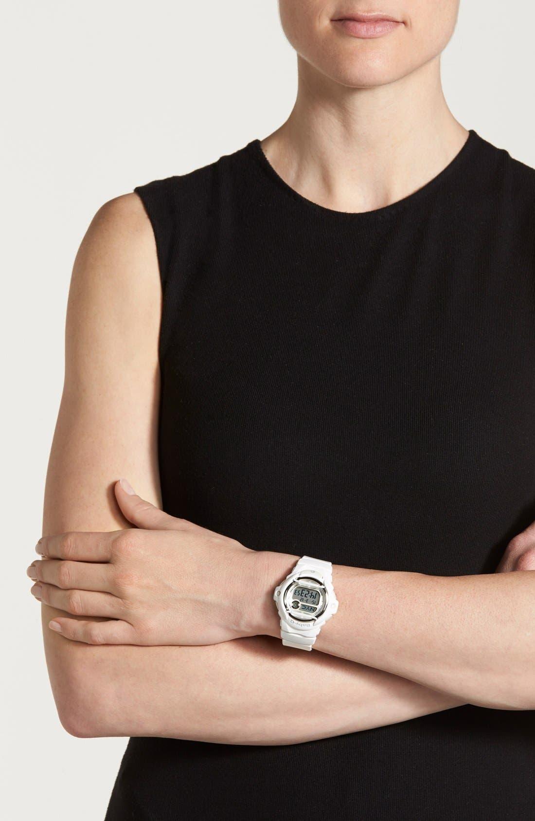 Alternate Image 3  - Baby-G Jelly Watch, 46mm