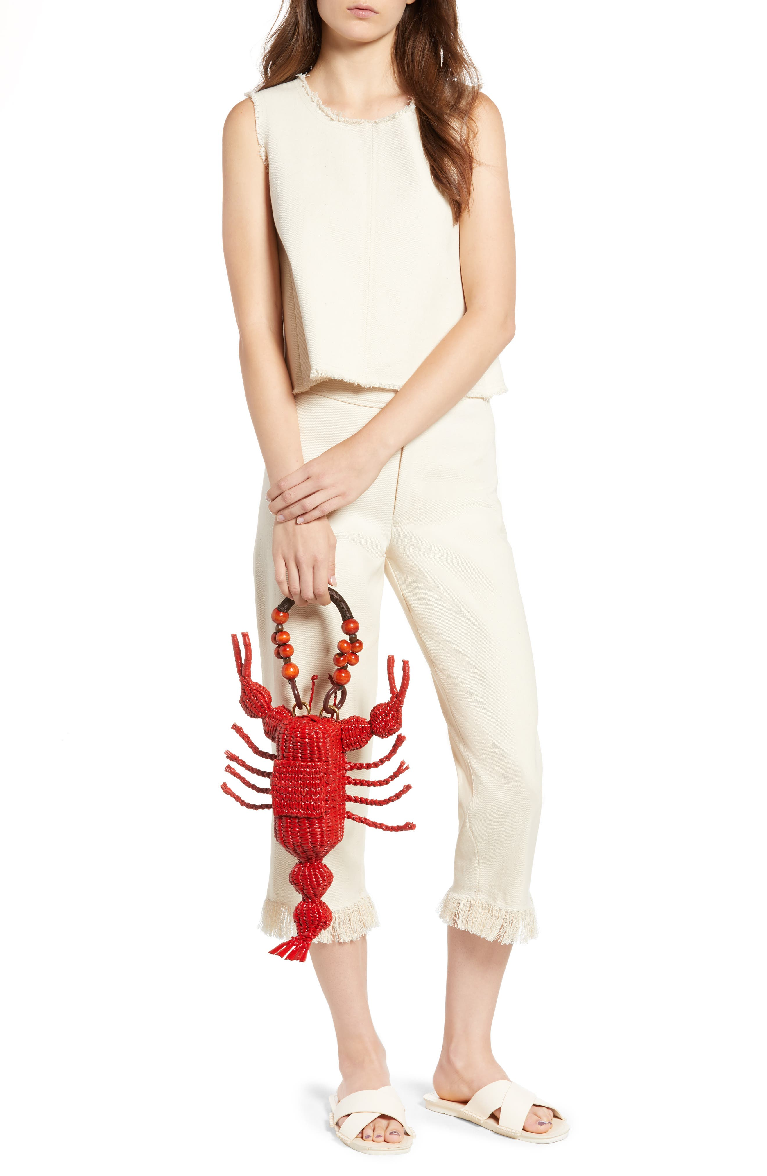 Lobster Bag,                             Alternate thumbnail 2, color,                             Red