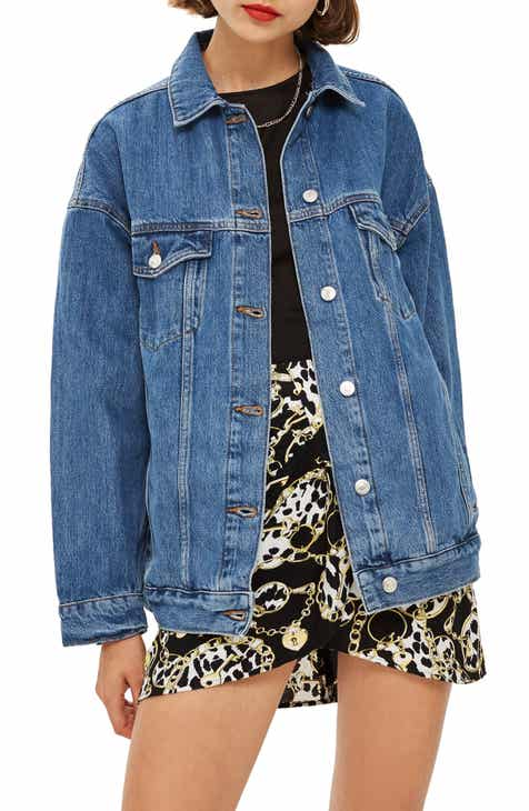 608959a61e92c Topshop Oversized Denim Jacket
