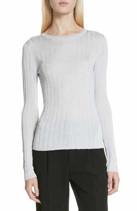 Vince Ribbed Crewneck Sweater f1460a3c9