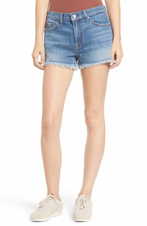 7 For All Mankind® Frayed Cutoff Shorts (Desert Oasis) by 7 FOR ALL MANKIND