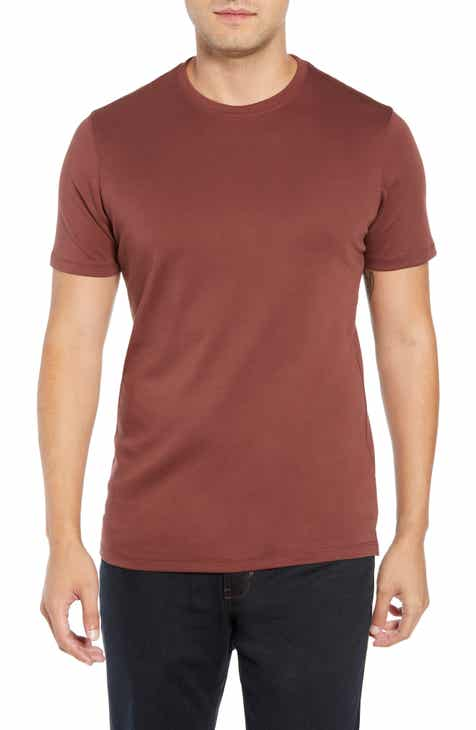 accefb3c339 Red Crewneck T-Shirts for Men  Long   Short Sleeves