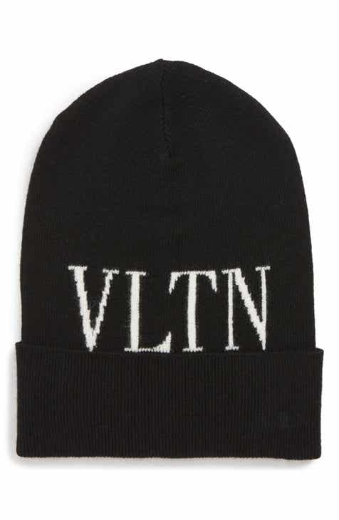 newest collection 7fd37 ac8e1 VALENTINO GARAVANI VLTN Wool   Cashmere Beanie